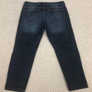 Cello Jeans - Cello Jeans   Shredded Slim Dark Wash Boyfriend